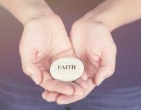 πίστη στοκ φωτογραφία