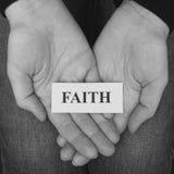 πίστη στοκ φωτογραφία με δικαίωμα ελεύθερης χρήσης