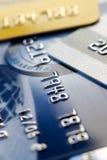 πίστωση καρτών ανασκόπησης Στοκ εικόνες με δικαίωμα ελεύθερης χρήσης