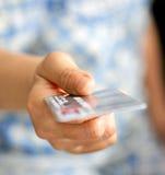 πίστωση καρτών Στοκ Φωτογραφία