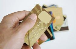 πίστωση καρτών Στοκ Εικόνες