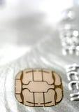 πίστωση τσιπ καρτών Στοκ εικόνες με δικαίωμα ελεύθερης χρήσης