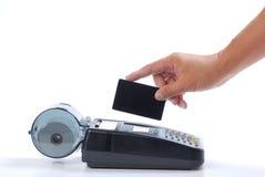 πίστωση χρέωσης καρτών Στοκ Εικόνα
