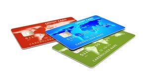 πίστωση s καρτών Στοκ εικόνες με δικαίωμα ελεύθερης χρήσης