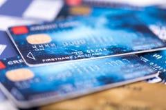 πίστωση s καρτών Στοκ Φωτογραφίες