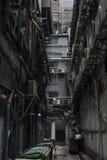 Πίσω αλέα σε Tsim Sha Tsui, Kowloon, Χονγκ Κονγκ Στοκ εικόνες με δικαίωμα ελεύθερης χρήσης