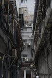 Πίσω αλέα σε Tsim Sha Tsui, Kowloon, Χονγκ Κονγκ Στοκ Εικόνες