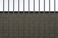Πίσω από τα κάγκελα Στοκ φωτογραφίες με δικαίωμα ελεύθερης χρήσης
