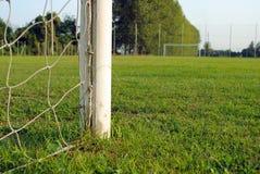 πίσω από την όψη ποδοσφαίρο&upsilo Στοκ φωτογραφία με δικαίωμα ελεύθερης χρήσης