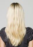 πίσω από τη γυναίκα πορτρέτο Στοκ Φωτογραφίες