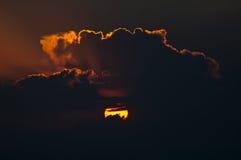 Πίσω από τη θύελλα Στοκ Φωτογραφία