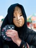 πίσω από τη μαγική μάσκα Στοκ εικόνες με δικαίωμα ελεύθερης χρήσης