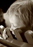 πίσω από τη φραγή Στοκ φωτογραφίες με δικαίωμα ελεύθερης χρήσης