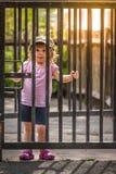 Πίσω από τις πύλες Στοκ εικόνες με δικαίωμα ελεύθερης χρήσης