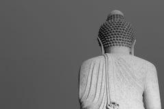 Πίσω από το μεγάλο Βούδα Στοκ εικόνα με δικαίωμα ελεύθερης χρήσης