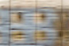πίσω από το σπίτι κουρτινών Στοκ Εικόνα