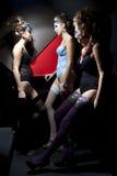 πίσω από cabaret τις σκηνές Στοκ Φωτογραφία