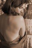 πίσω γυμνό θηλυκό Στοκ Εικόνες