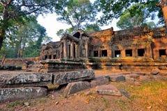 Πίσω είσοδος Wat Angkor Στοκ Φωτογραφία