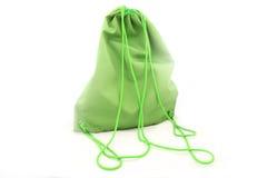 πίσω θηλυκό πράσινο πακέτο & Στοκ Φωτογραφίες