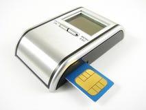 πίσω κάρτα sim επάνω σας Στοκ φωτογραφία με δικαίωμα ελεύθερης χρήσης