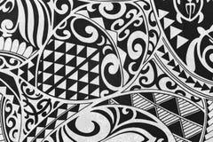 Πίσω και άσπρο τροπικό υπόβαθρο Στοκ εικόνα με δικαίωμα ελεύθερης χρήσης