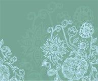πίσω καλοκαίρι λουλου διανυσματική απεικόνιση