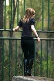 πίσω κορίτσι στοκ φωτογραφίες με δικαίωμα ελεύθερης χρήσης