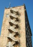 πίσω κτήριο παλαιό Στοκ Εικόνες