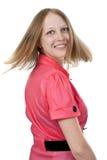 πίσω κόκκινο χαμόγελο κο& Στοκ Εικόνες