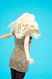 πίσω ξανθός έφηβος Στοκ φωτογραφία με δικαίωμα ελεύθερης χρήσης