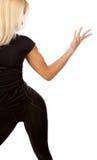 πίσω ξανθός προκλητικός Στοκ εικόνα με δικαίωμα ελεύθερης χρήσης