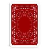 πίσω παιχνίδι καρτών Στοκ Εικόνες