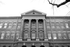 πίσω παλιό σχολείο Στοκ εικόνες με δικαίωμα ελεύθερης χρήσης