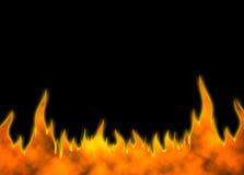 πίσω πυρκαγιά 01 ελεύθερη απεικόνιση δικαιώματος