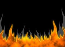 πίσω πυρκαγιά 04 ελεύθερη απεικόνιση δικαιώματος