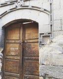Πίσω πόρτα παλατιών Abdeen Στοκ Φωτογραφίες