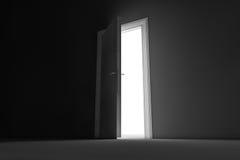 Πίσω πόρτα Στοκ φωτογραφίες με δικαίωμα ελεύθερης χρήσης