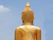 Πίσω πλευρά ο μεγάλος Βούδας Στοκ Εικόνα