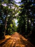 Πίσω δρόμοι στοκ φωτογραφία με δικαίωμα ελεύθερης χρήσης