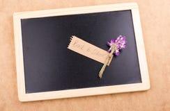 Πίσω στη σχολική εγγραφή με την ανθοδέσμη λουλουδιών Στοκ εικόνες με δικαίωμα ελεύθερης χρήσης