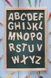 Πίσω στη σχολική έννοια και την ιδέα εκπαίδευσης Στοκ Εικόνα