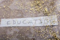 Πίσω στο σχολικό θέμα στην εκπαίδευση Στοκ φωτογραφίες με δικαίωμα ελεύθερης χρήσης