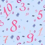 Πίσω στο σχολείο, αριθμοί Στοκ φωτογραφία με δικαίωμα ελεύθερης χρήσης