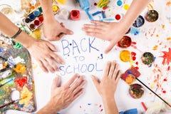 Πίσω στο σχολείο Στοκ εικόνες με δικαίωμα ελεύθερης χρήσης