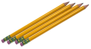 πίσω σχολείο μολυβιών Στοκ εικόνα με δικαίωμα ελεύθερης χρήσης
