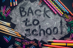 πίσω σχολείο έννοιας Στοκ φωτογραφία με δικαίωμα ελεύθερης χρήσης