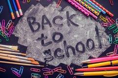 πίσω σχολείο έννοιας Στοκ φωτογραφίες με δικαίωμα ελεύθερης χρήσης