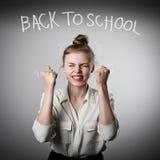 πίσω σχολείο έννοιας Στοκ Εικόνες