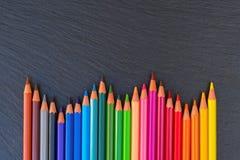 πίσω σχολείο μολυβιών Στοκ Φωτογραφία
